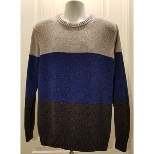 Old Navy Men's Crewneck Striped Sweater | Large
